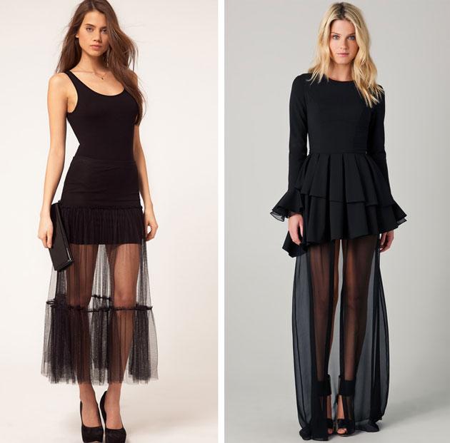 sheer-skirts