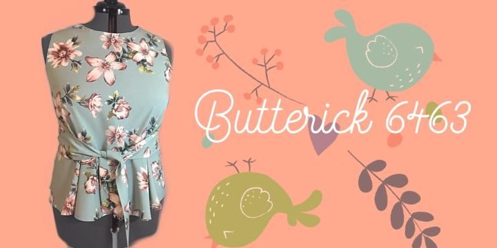 Butterick 6463