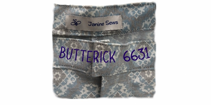 Butterick 6331 ~ Wearable Pants!