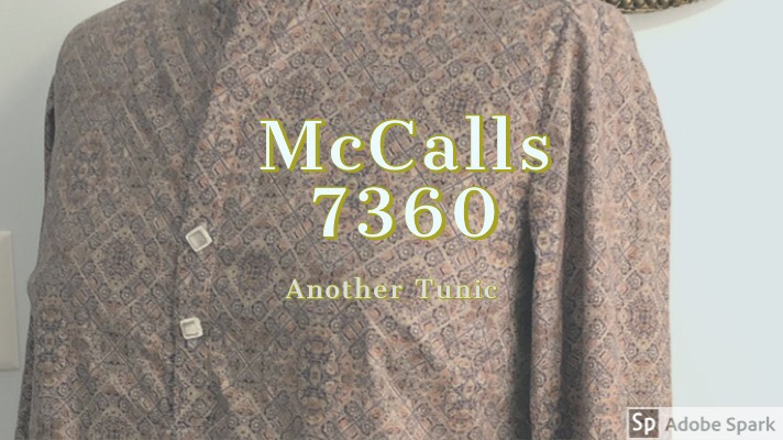 McCalls 7360 ~Another Tunic